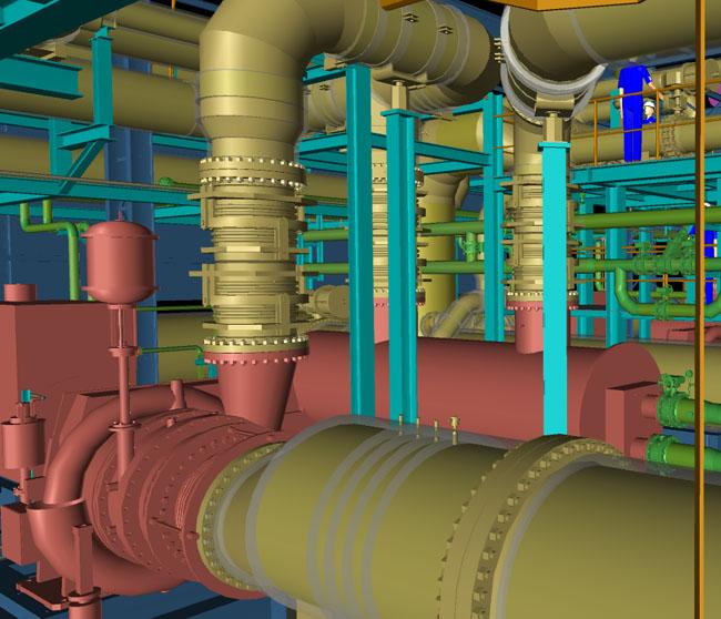 JSW Kompressorstation, Jindal Indien